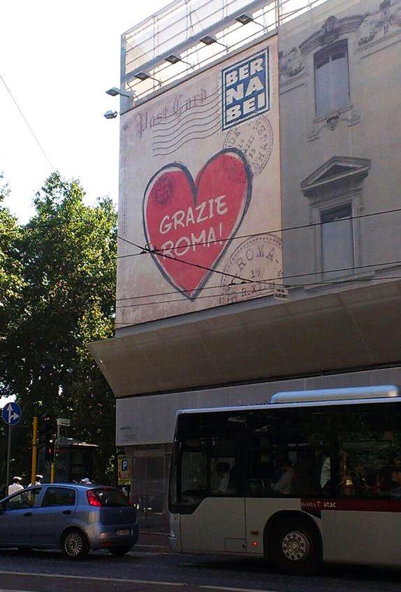 Grazie Rome!