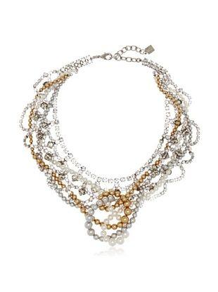 65% OFF Courtney Lee Swarovski Crystal & Swarovski Pearls Lordes Necklace