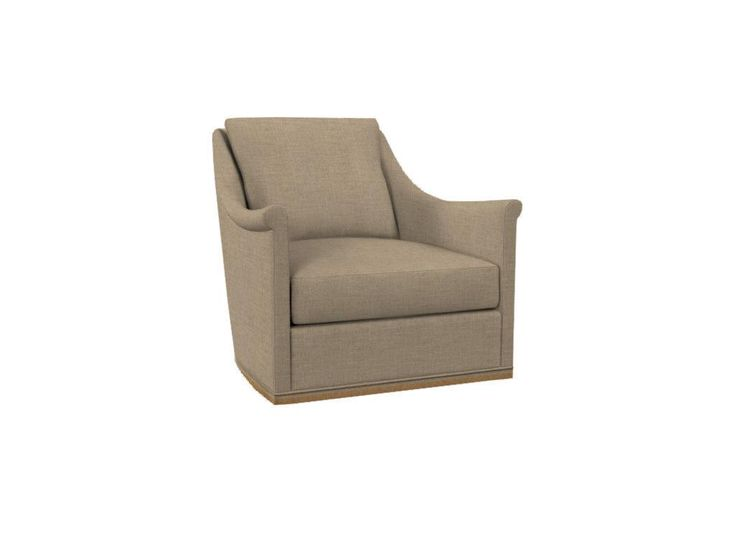 Hickory Chair Living Room Jules Chair - Swivel with wood