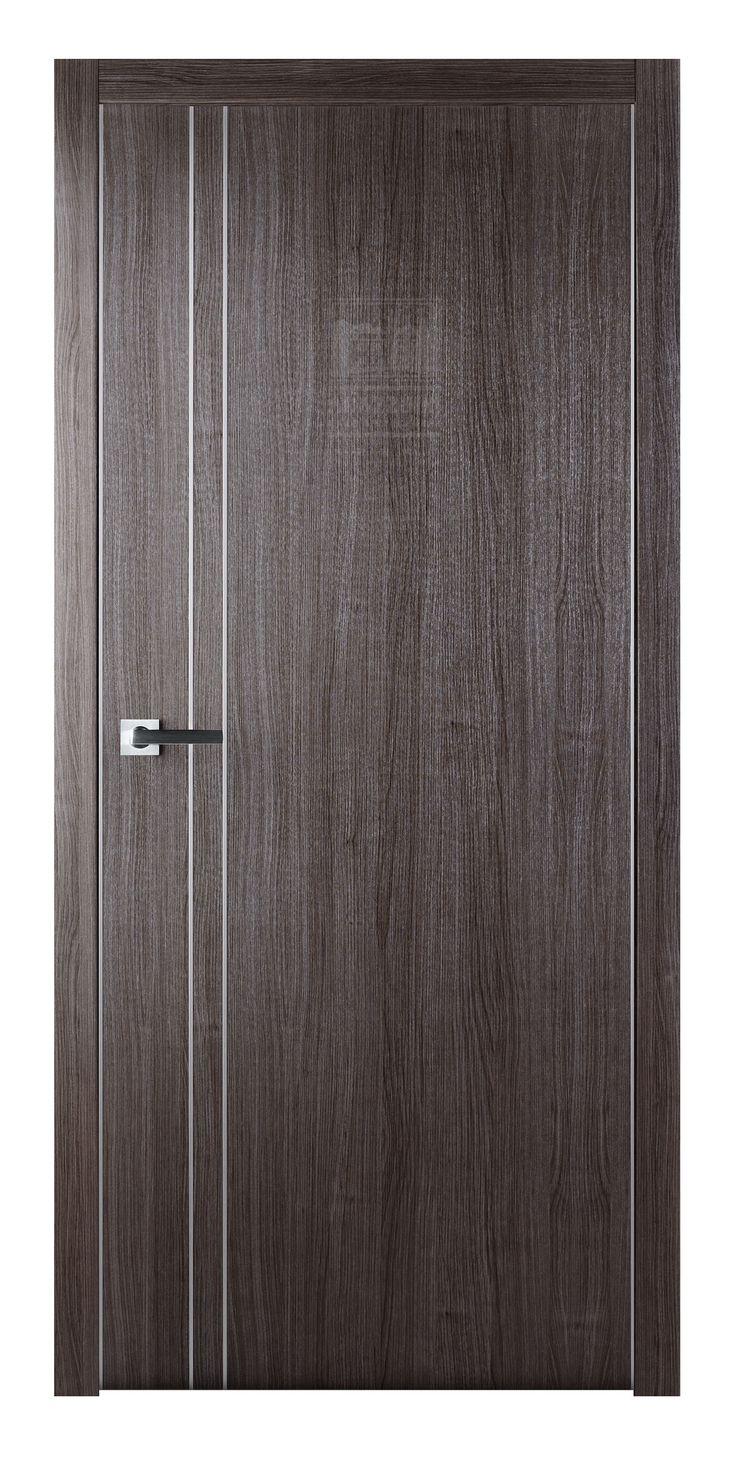 Arazzinni Unica Gray Oak Modern Interior Door