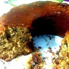 Νηστίσιμο κέικ με ταχίνι-πορτοκάλι