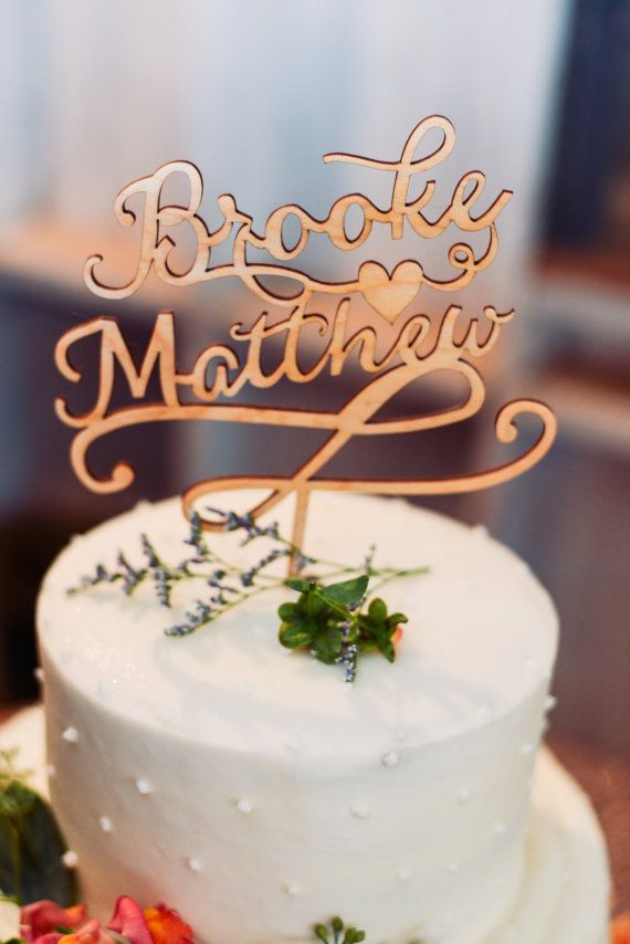 ABOUT: A personalized wedding cake topper is the perfect touch to celebrate your big day! Personal, modern, and incredibly unique, this cake