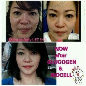 Before after glucogen dan biocell produk premium minat 25db748f  085719839816
