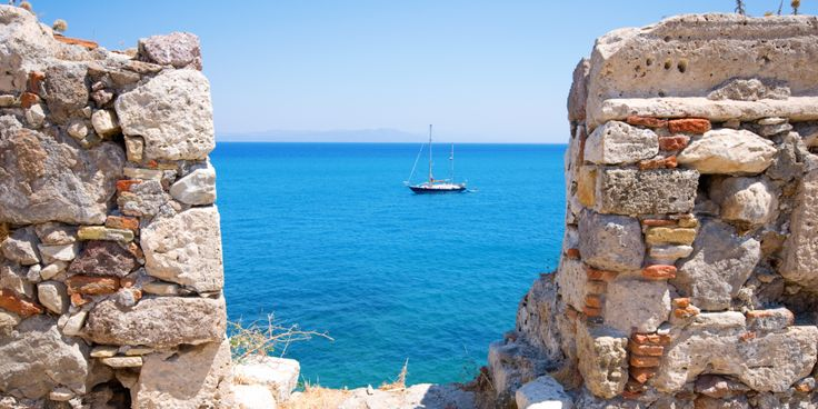 Cruising the Aegean on a small ship is a unique opportunity to enjoy the beauty of crystalline waters, the drama of Greek landscapes, and the unique experience of interlacing your own life with lives of ancient philosophers, politicians and artists. #small #ship #cruises #Greece #islands