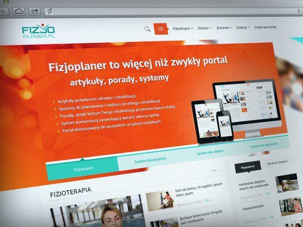 Portal o fizjoterapii fizjoplaner.pl
