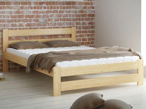 Naturalne łóżko sosnowe dla zapewnienia naturalnego snu! Prostota jest teraz w modzie więc z pewnością nasze łóżko wpasuje się do Państwa wnętrza :) Podwyższony zagłówek zapewnia dodatkowy komfort. Zdrowy sen jeszcze nigdy nie był taki prosty!          #łóżko #łóżkodrewniane #łóżkososnowe #łóżkoskandynawskie #producentłóżek #sypialnia #mebledosypialni #dosypialni