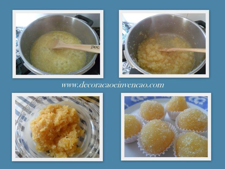 Docinho de abacaxi com coco - *Decoração e Invenção*