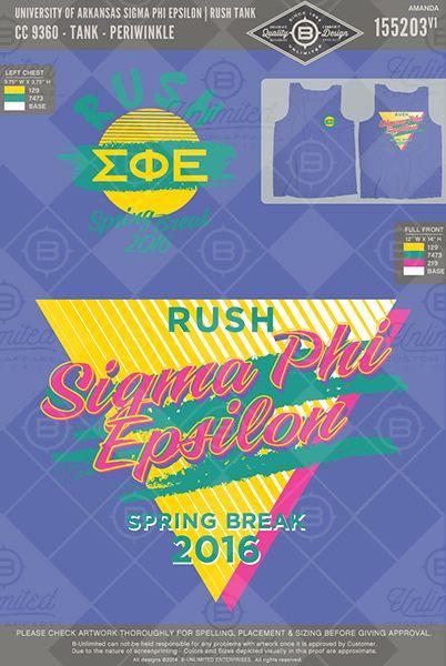 University of Arkansas- Sigma Phi Epsilon #BUonYOU #greek #greektshirts #greekshirts #fraternity #RUSH #recruitment #SigmaPhiEpsilon #SigEp #springbreak #bidday #PRshirts