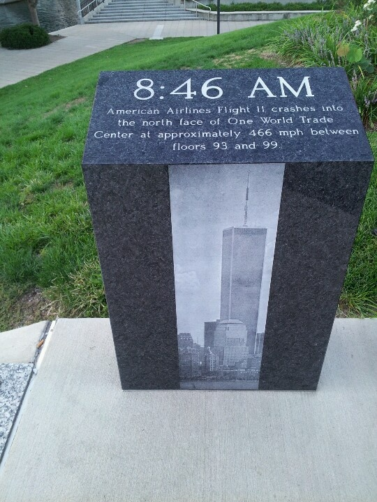 American Airlines Flight 11. September 11th Memorial.