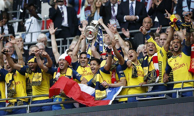 Arsenal 4-0 Aston Villa FA Cup Final 2015 LIVE: Follow Wembley action