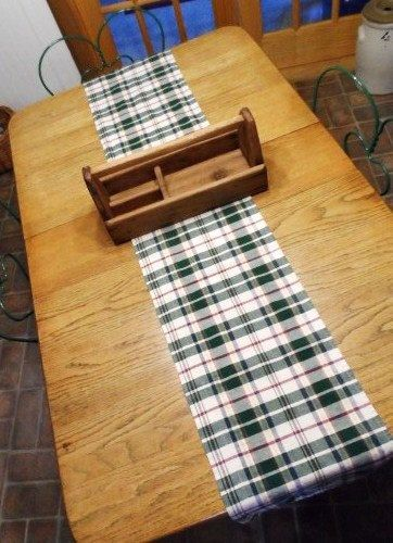 Prim Table Runner-Primitive Table Scarf-13 x by OrphanedTreasure