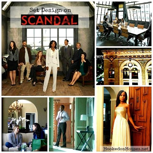 """Set Design on """"Scandal:"""" Olivia Pope's Apartment and Office"""
