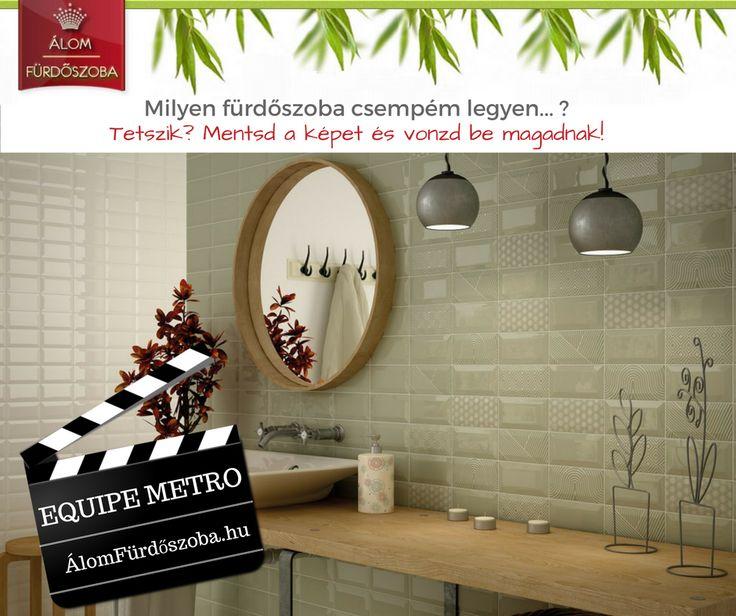 ♥ Equipe 7,5x15 metro csempe ♥ Rendelésre, bemutatótermünkben megtekinthető.  http://alomfurdoszobak.hu/hu/content/4-kapcsolat