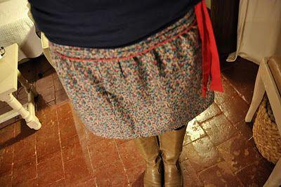 TUTO skirt.