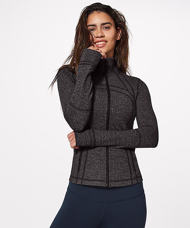7fbc90f22f609 Define Jacket (Luon Variegated Knit Black Heathered Black ...