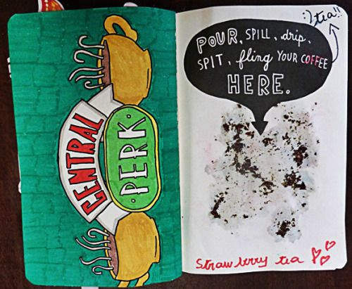 wreck this journal pour spill drip - Google Search