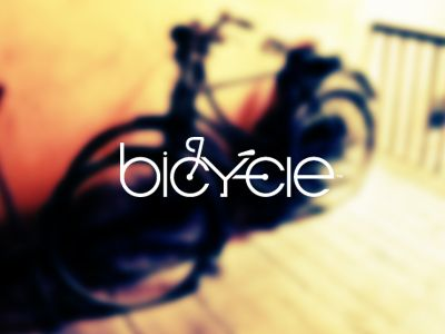 Bicycle - A Logo design Bicycle lovers..