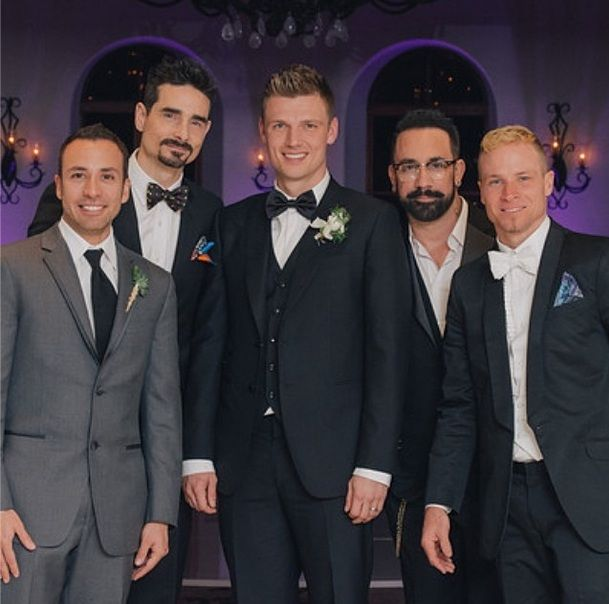 Backstreet Boys – AJ McLean, Nick Carter, Brian Littrell, Kevin Richardson, and Howie Dorough.