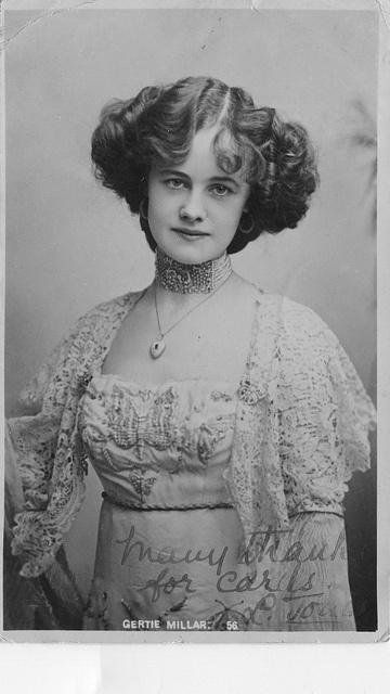 Edwardian Actress Gertie Millar