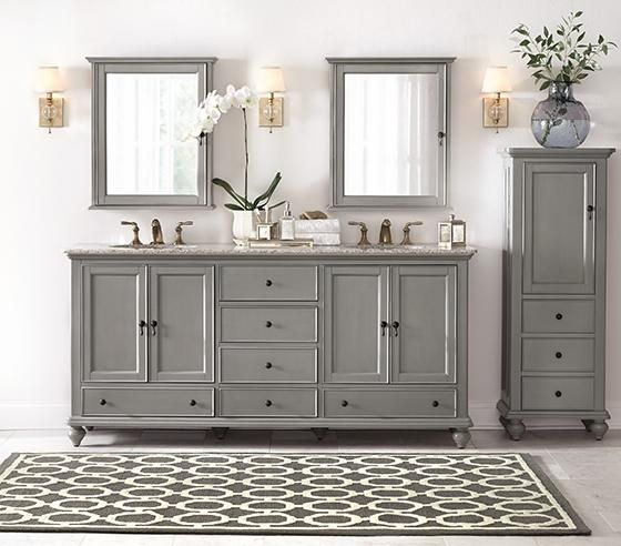 Pics Of Newport Tall Linen Cabinet Linen Cabinet Bathroom Cabinet Bath Cabinets HomeDecorators