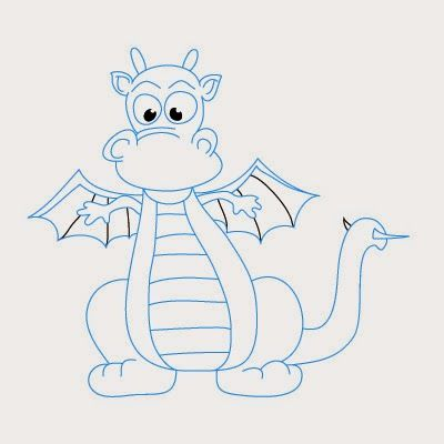 Voici un nouveau tutoriel pas à pas pour comment dessiner un dragon facilement
