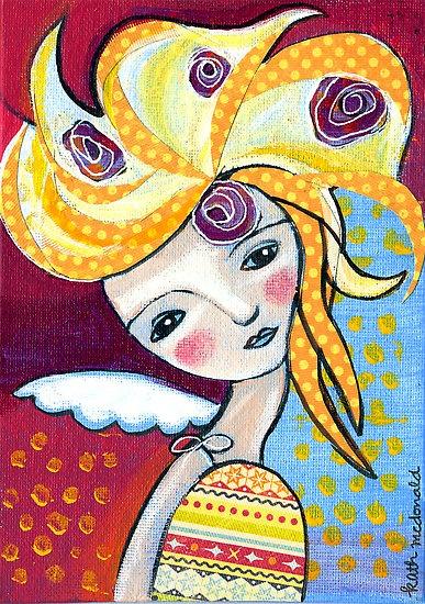 Medusa Angel by Katherine McDonald