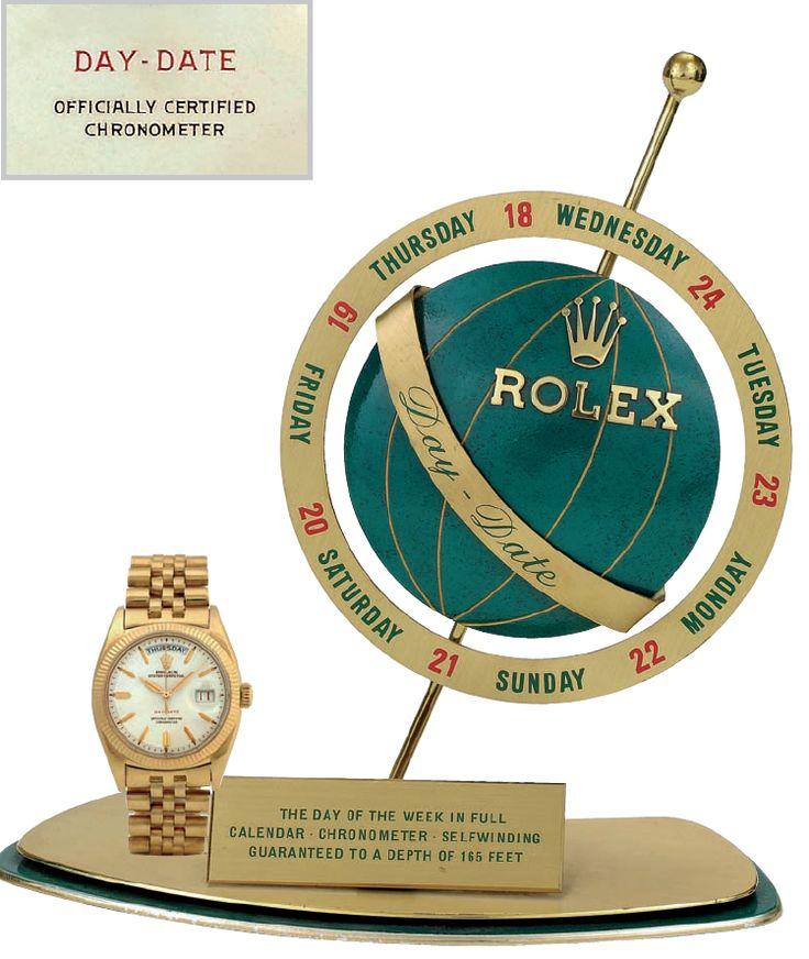 "ROLEX DAY-DATE  REF. 6511 BEZEL: ""MILLERIGHE"" http://www.mondanionline.com/rolex_day_date-38.php?&lingua=en"