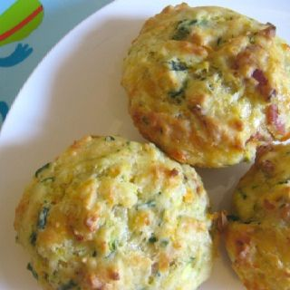 Toddler Muffins or Men-that-need-healthy-snacks-in-a-pinch muffins! IE Kelly