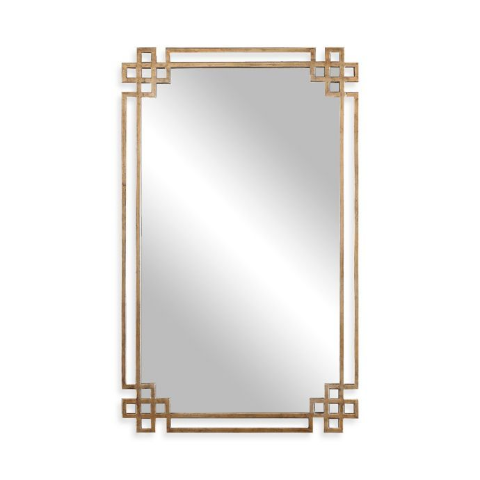 Uttermost 22 75 Inch X 37 Inch Devoll Rectangular Mirror In