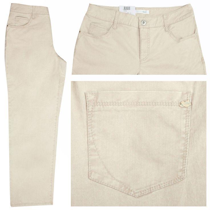 MAC Stretch Damen Jeans / Form: Gracia / Farbe: beige new - FarbNr.: 215 / im MAC Jeans Online Shop