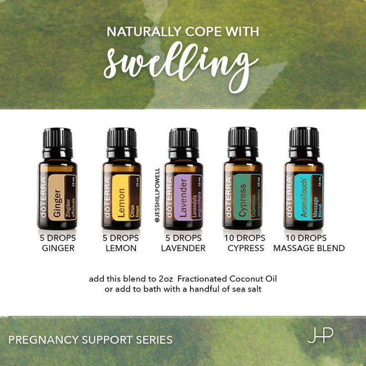 Pregnancy Support Series: Swelling. Make yourself a warm bath and relax with…