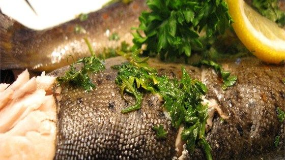 Trout is sealed in aluminum foil with a delicious blend of ingredients, then quickly grilled to serve for dinner. A quick, easy and delicious way to cook trout.