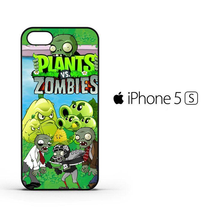 plants zombie D125 iPhone 5   5S   SE Case