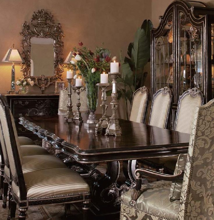 Best Luxury Dining Room Ideas On Pinterest Traditional
