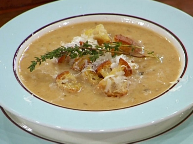 emeril lagasse s garlic soup making this now and this soup is to die ...
