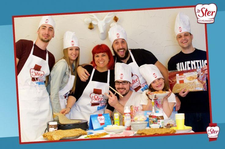 Félicitations à Thedoll dont la photo de groupe est le choix de la marque Le Ster Le Pâtissier !