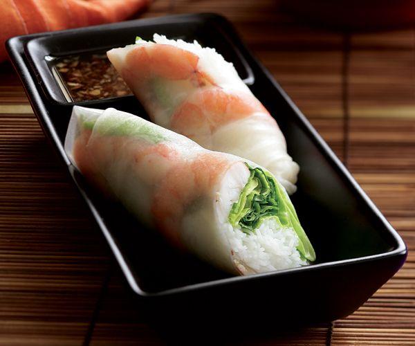 Pork and Shrimp Summer Rolls | Recipe