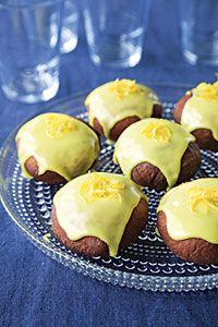 Sitruuna-vadelmamunkit | Pääsiäinen | Reseptit | Valintatalo