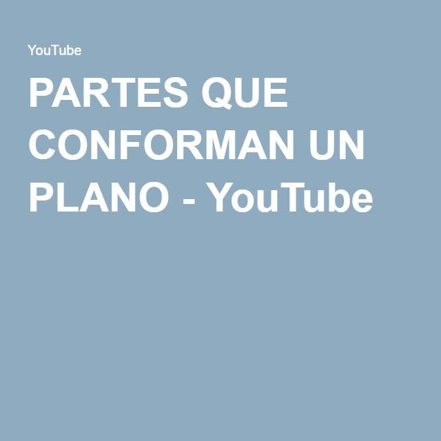 Partes que conforman un plano youtube dibujo for Que es un plano arquitectonico