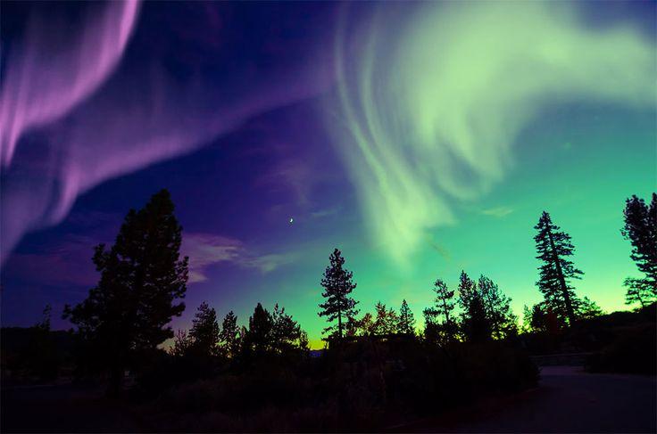 Polarlichter Finnland
