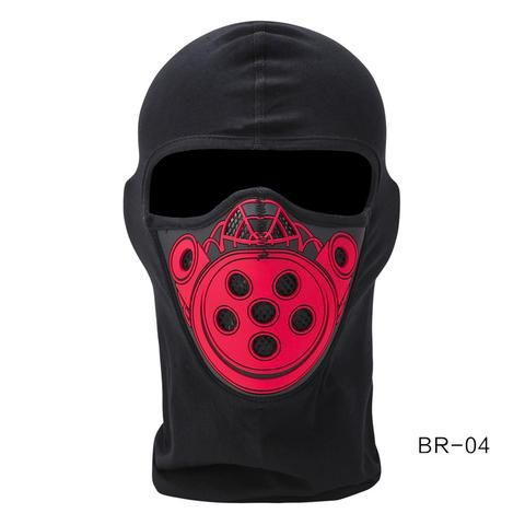 Silicone UV Protective Motorcycle Windproof Face Mask