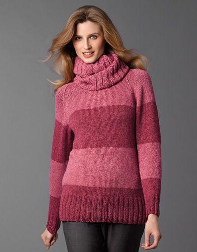 Revista mujer Concept 1 Otoño / Invierno | 18: Mujer Jersey | Rosa / Granate