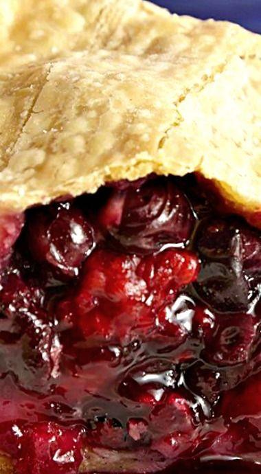 Mixed Berry Pie ❊