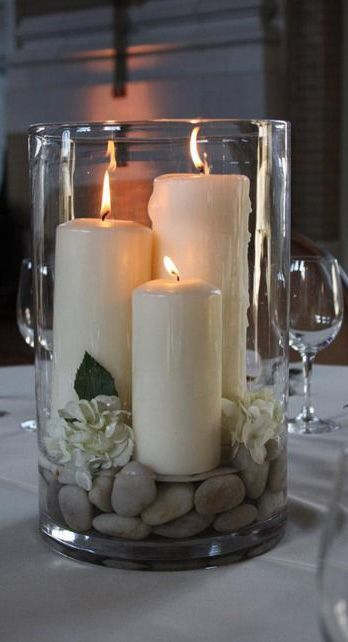 Simple & Zen Centerpieces