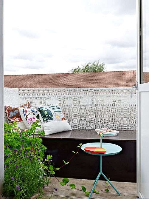 45 Cool Small Balcony Design Ideas | DigsDigs