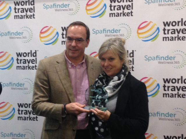 Hot off the press!!....We are delighted to share that Fusion Maia Resort, Da Nang are SPAFINDER CRYSTAL AWARD WINNERS 'BEST IN VIETNAM' announced at WTM this week. They also won an award for 'BEST FOR YOGA'. Sue at LJR Consultancy was thrilled to accept the award on their behalf. Congratulations to you from the LJR Consultancy Team!