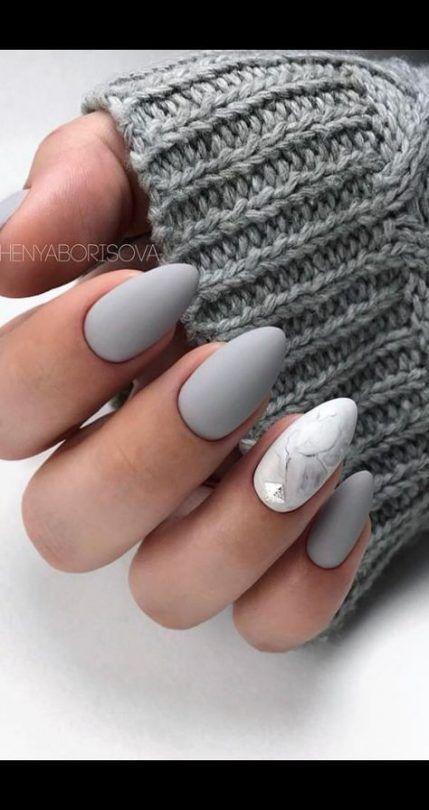Nails marble coffin 32 Ideas  Nails  – Fingernägel