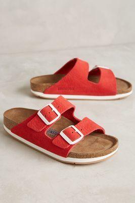 Birkenstock Arizona Sandals Red Sandals