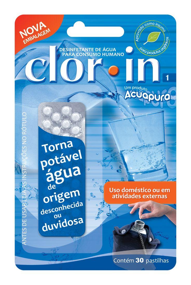 Uma maneira de purificar a água é utilizar pastilhas de purificação. Muitas empresas as fabricam e elas são obrigatórias em qualquer kit de sobrevivência. As pastilhas utilizam iodo ou cloro para tratar a água. ***