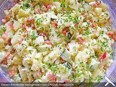 Kartoffelsalat, leicht und frisch